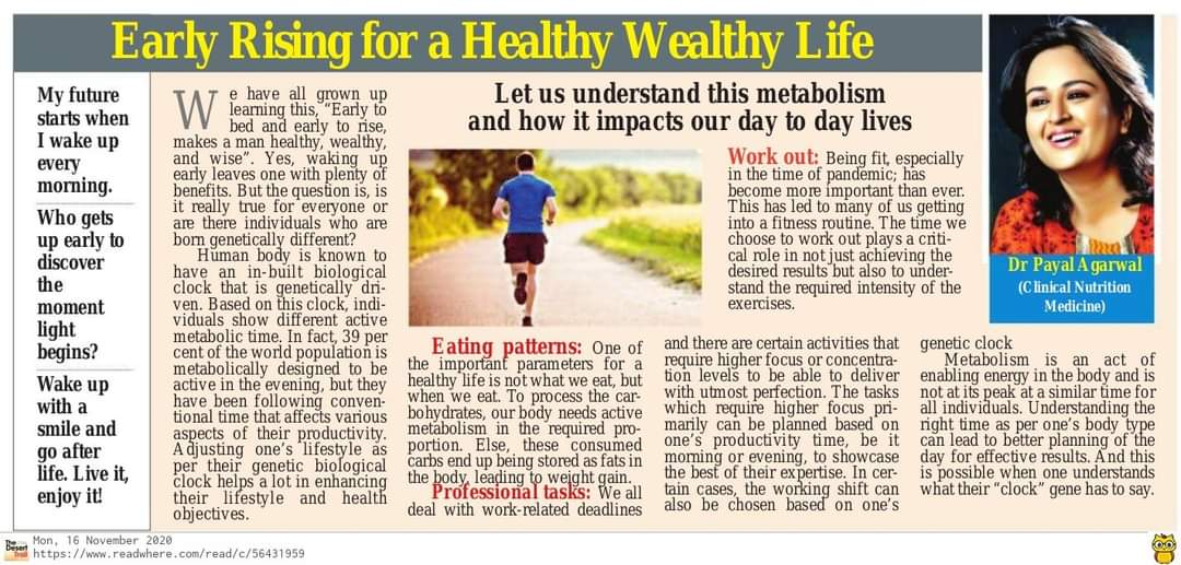 46Early Rising For A Healthy Wealthy Life