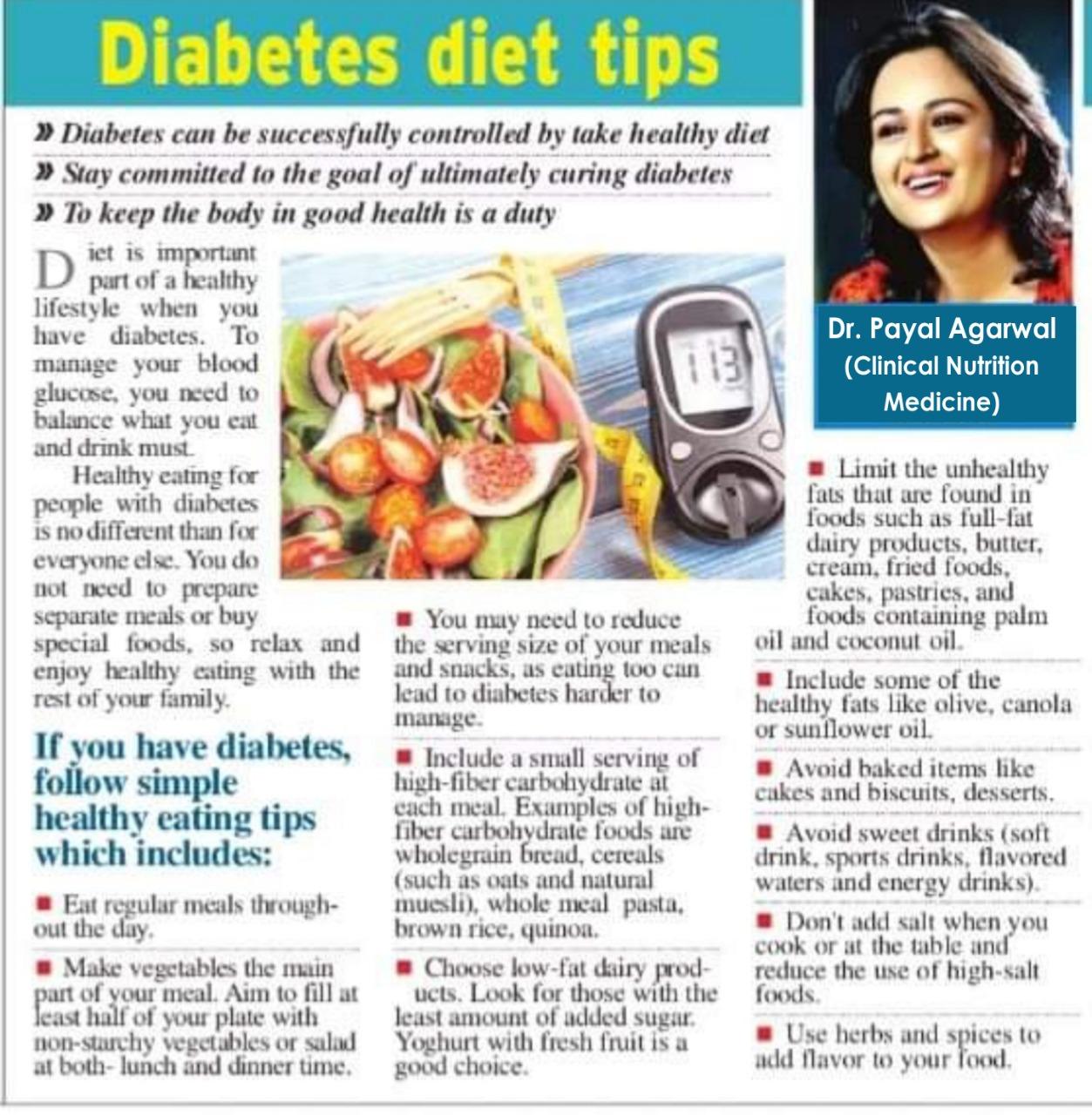 Diabetes Diet Tips