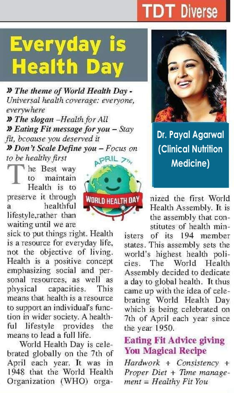 Everyday Is Health Day