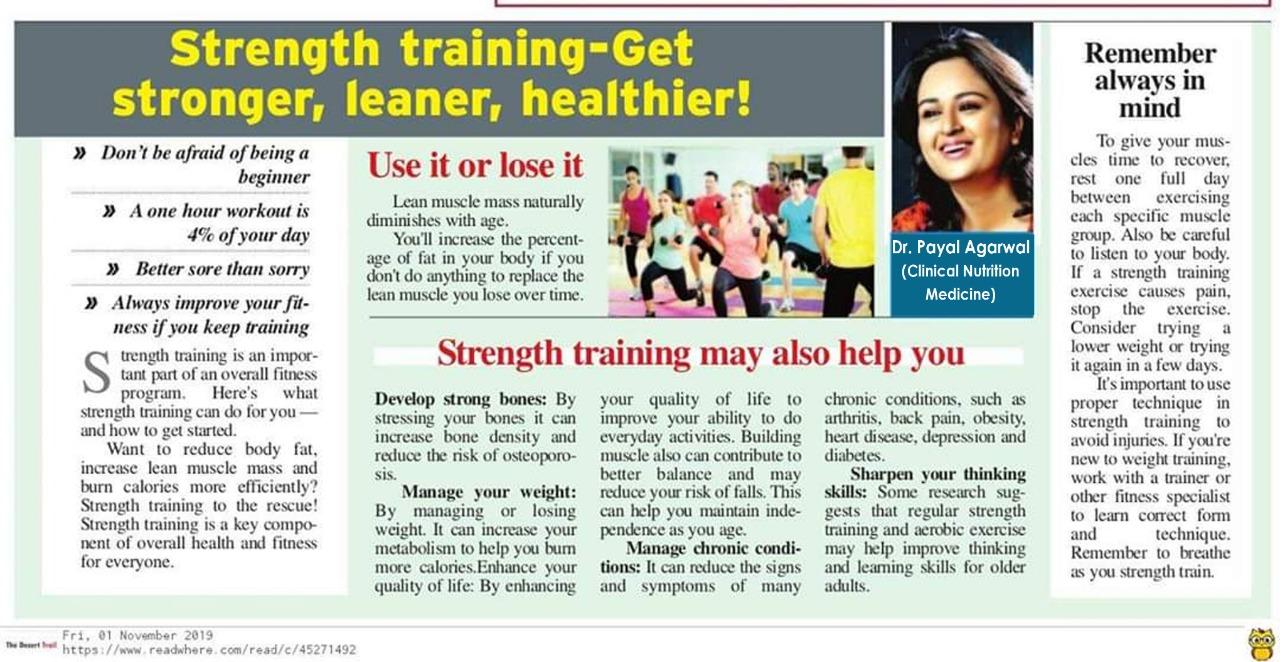 Strength Training - Get Stronger,Leaner,Healthier